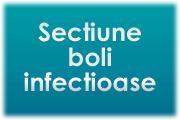 Sectiune boli infectioase