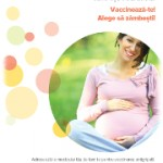poster femei gravide gripa