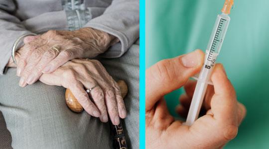 In etapa a doua de vaccinare sunt incluse persoanele de peste 65 de ani si pacientii cu boli cronice
