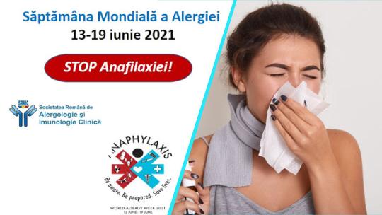 Saptamana Mondiala a Alergiei | Simptomele anafilaxiei